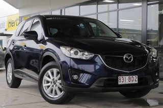 2013 Mazda CX-5 KE1071 Maxx SKYACTIV-Drive Sport Deep Crystal Blue 6 Speed Sports Automatic Wagon.