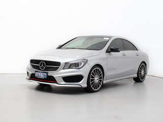 2016 Mercedes-Benz CLA250 117 MY15 4Matic Silver 7 Speed Automatic Coupe.