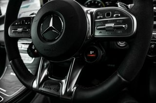 2019 Mercedes-Benz C-Class A205 809MY C63 AMG SPEEDSHIFT MCT S White 9 Speed Sports Automatic