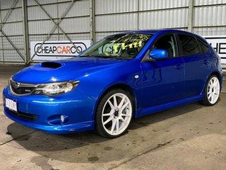 2009 Subaru Impreza G3 MY09 WRX AWD Blue 5 Speed Manual Hatchback.