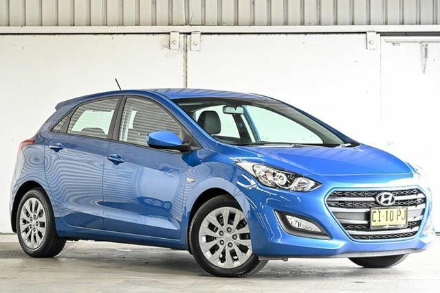 Used Hyundai i30 GD4 Series II MY17 Active Laverton North, 2016 Hyundai i30 GD4 Series II MY17 Active Red 6 Speed Sports Automatic Hatchback
