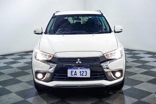2016 Mitsubishi ASX XC MY17 LS White 6 Speed Sports Automatic Wagon.
