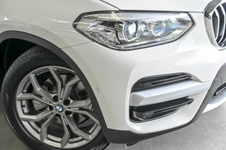 2018 BMW X3 G01 sDrive20i Steptronic White 8 Speed Automatic Wagon.