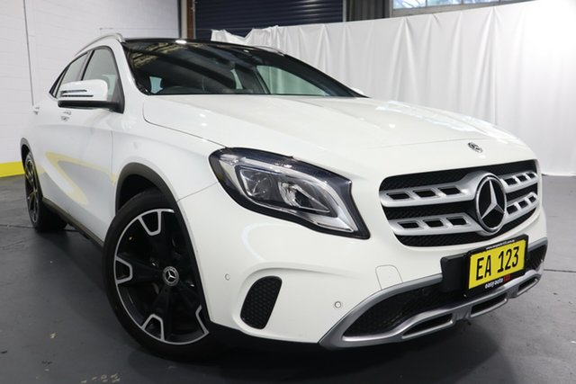 Used Mercedes-Benz GLA-Class X156 808+058MY GLA250 DCT 4MATIC Castle Hill, 2018 Mercedes-Benz GLA-Class X156 808+058MY GLA250 DCT 4MATIC White 7 Speed