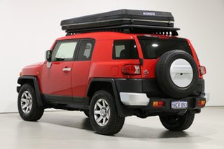 2015 Toyota FJ Cruiser GSJ15R MY14 Red 5 Speed Automatic Wagon