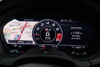 2018 Audi S3 8V MY18 S Tronic Quattro Blue 7 Speed Sports Automatic Dual Clutch Sedan