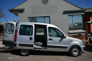 2004 Renault Kangoo X76 Integral Silver 4 Speed Automatic Van.