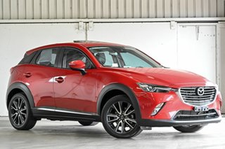 2017 Mazda CX-3 DK4W7A Akari SKYACTIV-Drive i-ACTIV AWD Red 6 Speed Sports Automatic Wagon.
