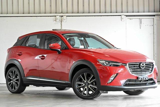 Used Mazda CX-3 DK4W7A Akari SKYACTIV-Drive i-ACTIV AWD Laverton North, 2017 Mazda CX-3 DK4W7A Akari SKYACTIV-Drive i-ACTIV AWD Red 6 Speed Sports Automatic Wagon