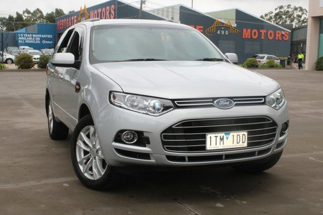 Used Ford Territory SZ TS (RWD) West Footscray, 2014 Ford Territory SZ TS (RWD) Silver 6 Speed Automatic Wagon
