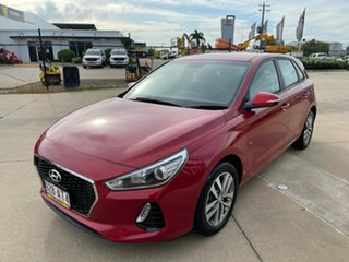 2018 Hyundai i30 PD2 MY18 Active Red/300618 6 Speed Sports Automatic Hatchback