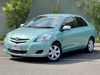 2006 Toyota Yaris NCP93R YRS Green 4 Speed Automatic Sedan.