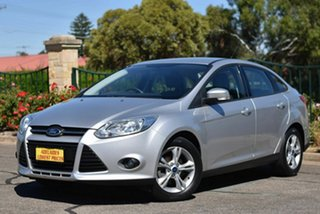 2012 Ford Focus LW Trend PwrShift Silver 6 Speed Sports Automatic Dual Clutch Sedan.