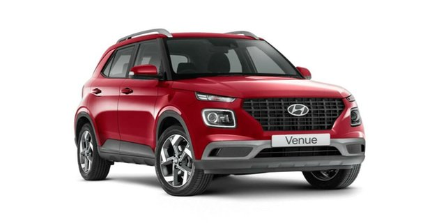 New Hyundai Venue QX.V3 MY21 Active Nailsworth, 2021 Hyundai Venue QX.V3 MY21 Active Fiery Red 6 Speed Automatic Wagon