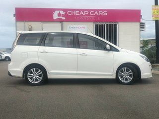 2013 Proton Exora FZ GX White 6 Speed Constant Variable Wagon.