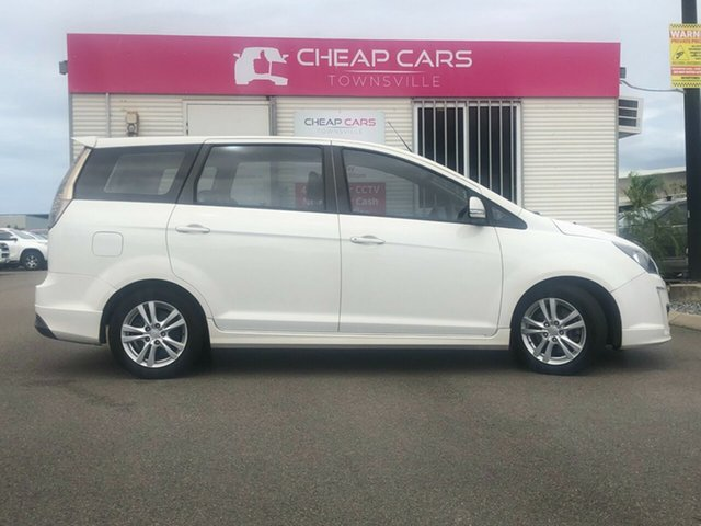 Used Proton Exora FZ GX Garbutt, 2013 Proton Exora FZ GX White 6 Speed Constant Variable Wagon