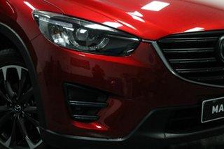 2015 Mazda CX-5 KE1032 Akera SKYACTIV-Drive AWD Red 6 Speed Sports Automatic Wagon.