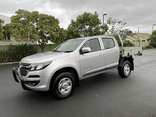 2018 Holden Colorado RG LS Silver 6 Speed Automatic Dual Cab