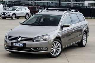 2014 Volkswagen Passat Type 3C 130TDI Highline Brown Sports Automatic Dual Clutch Wagon.