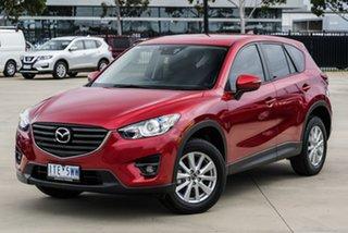 2015 Mazda CX-5 KE1032 Maxx SKYACTIV-Drive AWD Red 6 Speed Sports Automatic Wagon.