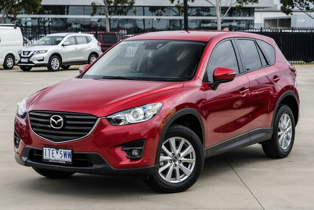 Used Mazda CX-5 KE1032 Maxx SKYACTIV-Drive AWD Narre Warren, 2015 Mazda CX-5 KE1032 Maxx SKYACTIV-Drive AWD Red 6 Speed Sports Automatic Wagon