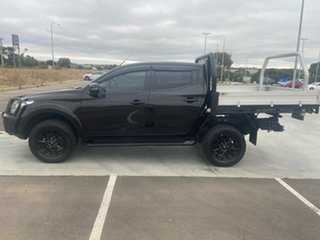 2018 Mitsubishi Triton MQ MY18 GLS Double Cab Black 5 Speed Sports Automatic Utility