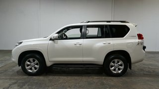 2013 Toyota Landcruiser Prado KDJ150R Altitude White 5 Speed Sports Automatic Wagon