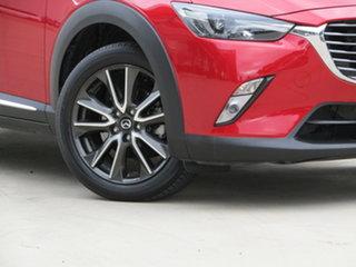2015 Mazda CX-3 DK4W7A Akari SKYACTIV-Drive i-ACTIV AWD Red 6 Speed Sports Automatic Wagon.