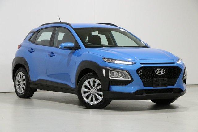 Used Hyundai Kona OS.2 MY19 GO (FWD) Bentley, 2019 Hyundai Kona OS.2 MY19 GO (FWD) Blue 6 Speed Automatic Wagon