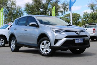 2017 Toyota RAV4 ASA44R GX AWD Silver 6 Speed Sports Automatic Wagon