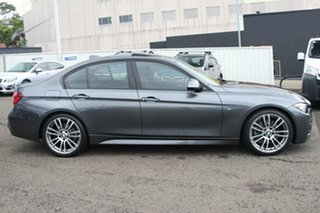 2018 BMW 3 Series F30 LCI 330i M Sport Grey 8 Speed Sports Automatic Sedan