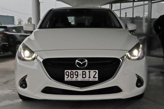 2017 Mazda 2 DL2SA6 GT SKYACTIV-MT Snowflake White Pearl 6 Speed Manual Sedan