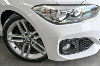 2017 BMW 1 Series F20 LCI 118i Steptronic Sport Line White 8 Speed Sports Automatic Hatchback.