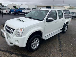 2009 Isuzu D-MAX MY09 LS-U White 4 Speed Automatic Utility