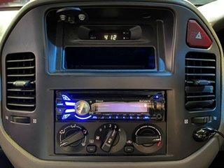 2001 Mitsubishi Pajero NM GLX Plus Silver 5 Speed Manual Wagon
