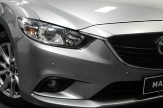 2013 Mazda 6 GJ1031 Touring SKYACTIV-Drive Silver 6 Speed Sports Automatic Wagon.