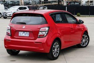 2017 Holden Barina TM LS Red Manual Hatchback.