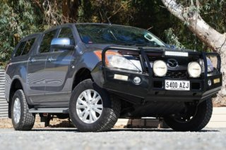 2013 Mazda BT-50 UP0YF1 XTR Grey 6 Speed Manual Utility.
