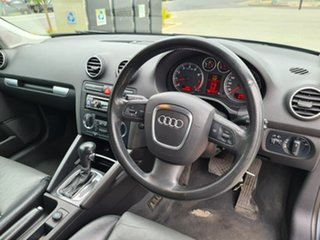 2005 Audi A3 8P Ambition Sportback Tiptronic Grey 6 Speed Sports Automatic Hatchback