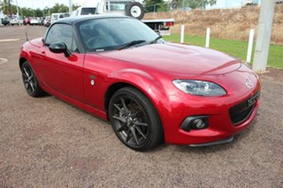 2014 Mazda MX-5 NC30F2 MY13 25th Anniversary Roadster Coupe Red 6 Speed Auto Activematic Convertible.