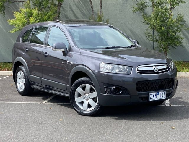 Used Holden Captiva CG Series II MY12 7 SX Templestowe, 2013 Holden Captiva CG Series II MY12 7 SX Grey 6 Speed Sports Automatic Wagon
