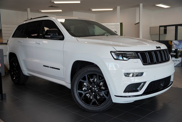 New Jeep Grand Cherokee WK MY21 S-Limited Cairns, 2020 Jeep Grand Cherokee WK MY21 S-Limited Bright White 8 Speed Sports Automatic Wagon