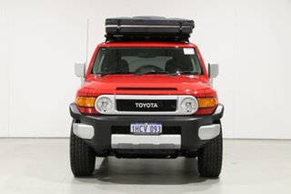 2015 Toyota FJ Cruiser GSJ15R MY14 Red 5 Speed Automatic Wagon.