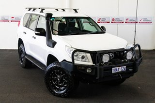 2012 Toyota Landcruiser Prado KDJ150R 11 Upgrade GX (4x4) Glacier White 5 Speed Sequential Auto.