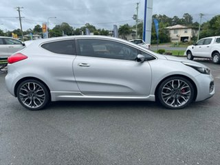 2014 Kia Pro_ceed JD MY15 GT Silver 6 Speed Manual Hatchback.