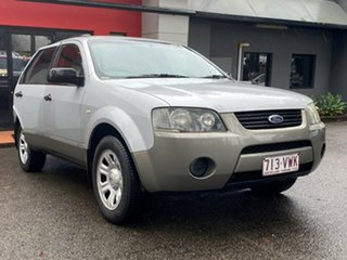 2005 Ford Territory SY TS Metallic Silver 4 Speed Sports Automatic Wagon.