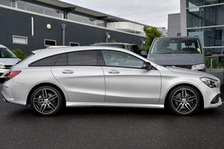 2016 Mercedes-Benz CLA-Class X117 807MY CLA220 d Shooting Brake DCT Silver 7 Speed.