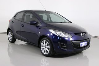 2013 Mazda 2 DE MY14 Neo Sport Blue 5 Speed Manual Hatchback.