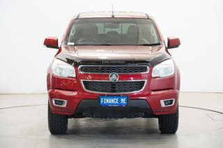 2016 Holden Colorado RG MY16 LS-X Crew Cab Red 6 Speed Sports Automatic Utility.