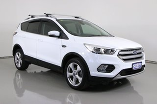 2017 Ford Escape ZG MY18 Trend (FWD) White 6 Speed Automatic SUV.